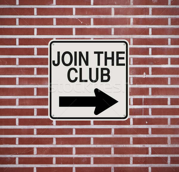 Join the Club  Stock photo © lorenzodelacosta