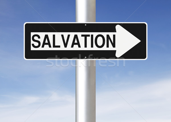Salvation  Stock photo © lorenzodelacosta