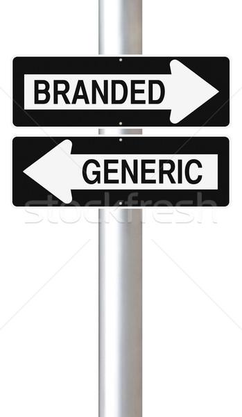 Branded Versus Generic  Stock photo © lorenzodelacosta