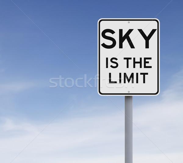 Sky is the Limit  Stock photo © lorenzodelacosta