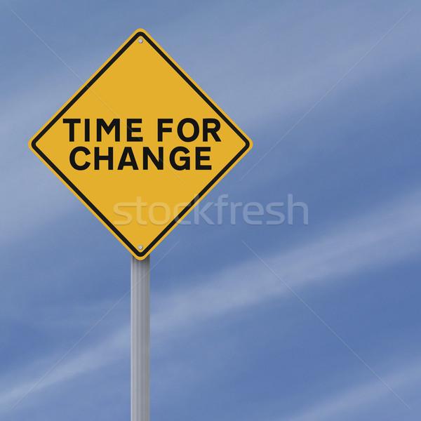 Time for Change  Stock photo © lorenzodelacosta
