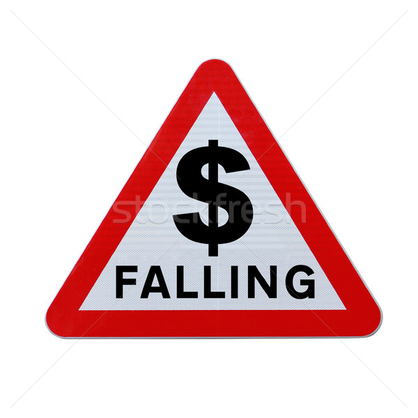 Dollar Falling Stock photo © lorenzodelacosta