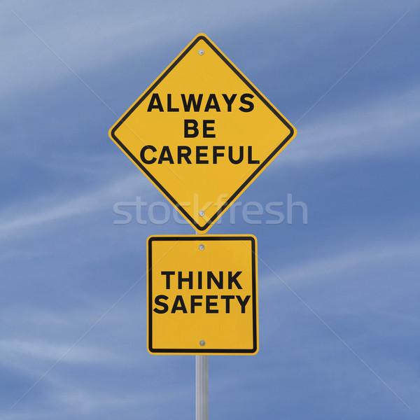 Always Be Careful  Stock photo © lorenzodelacosta