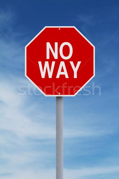 No Way  Stock photo © lorenzodelacosta