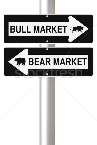 Bear Versus Bull  Stock photo © lorenzodelacosta