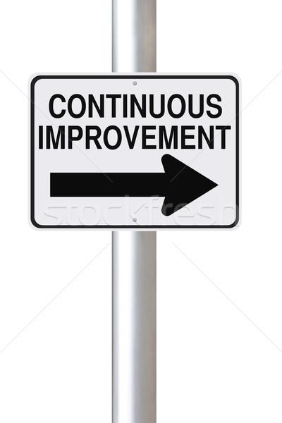 Continuous Improvement  Stock photo © lorenzodelacosta