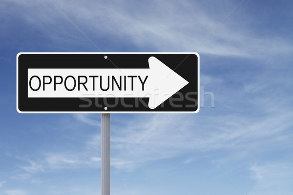 Opportunity This Way  Stock photo © lorenzodelacosta