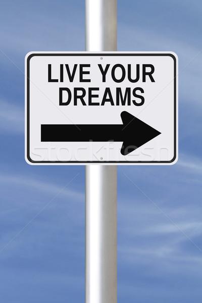Live Your Dreams  Stock photo © lorenzodelacosta