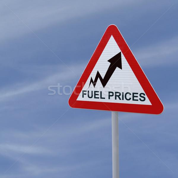Fuel Prices Up Stock photo © lorenzodelacosta