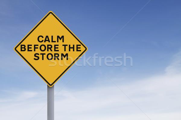 Calm Before the Storm  Stock photo © lorenzodelacosta