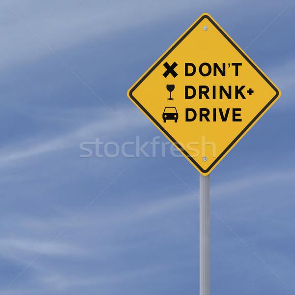 Don't Drink and Drive  Stock photo © lorenzodelacosta