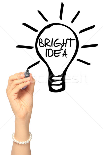Bright Idea  Stock photo © lorenzodelacosta