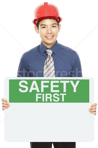 Safety First  Stock photo © lorenzodelacosta