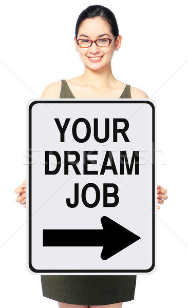 This Way To Your Dream Job  Stock photo © lorenzodelacosta