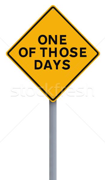 One Of those Days  Stock photo © lorenzodelacosta