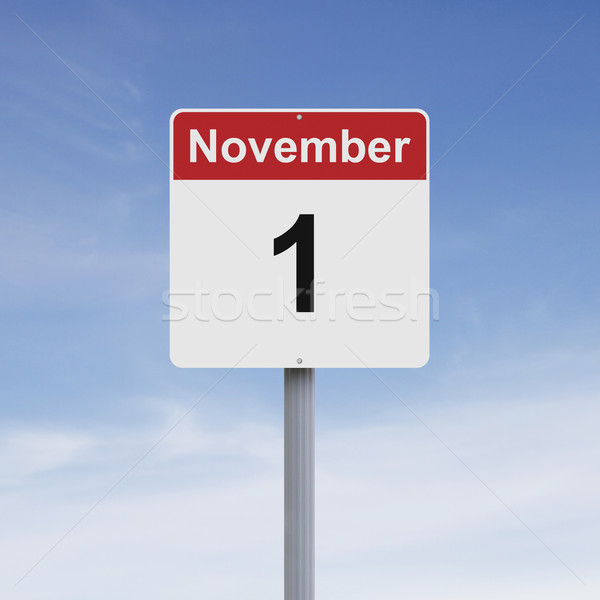 First of November  Stock photo © lorenzodelacosta
