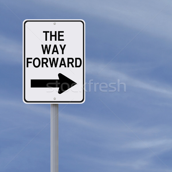 The Way Forward  Stock photo © lorenzodelacosta