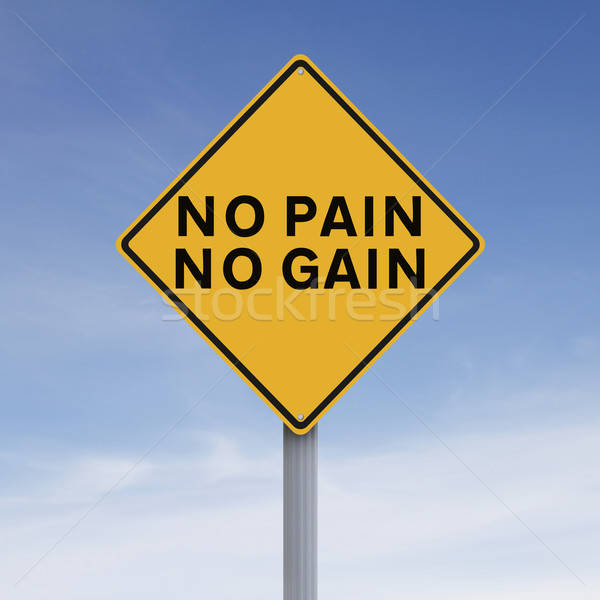 No Pain, No Gain  Stock photo © lorenzodelacosta