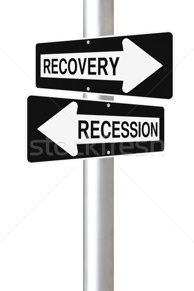 Recovery or Recession  Stock photo © lorenzodelacosta