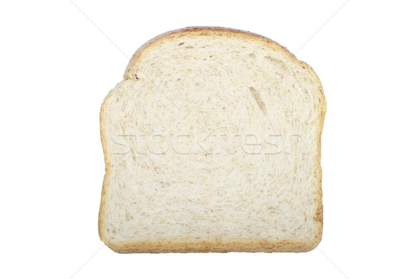 Rebanada pan de trigo entero alimentos trigo aislado Foto stock © lorenzodelacosta