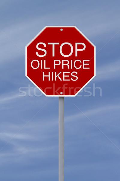 Stop Oil Price Hikes  Stock photo © lorenzodelacosta