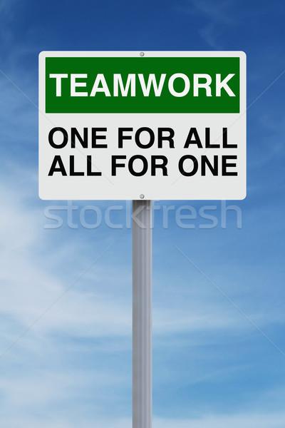 Teamwork   Stock photo © lorenzodelacosta