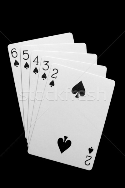 Straight Flush Stock photo © lorenzodelacosta