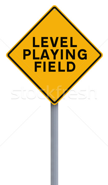 Level Playing Field  Stock photo © lorenzodelacosta