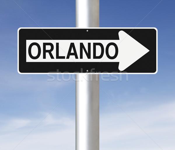 This Way to Orlando  Stock photo © lorenzodelacosta