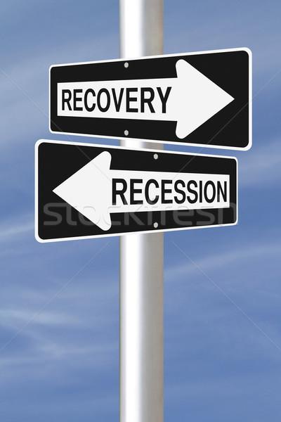 Recovery or Recession  Stock photo © lorenzodelacosta
