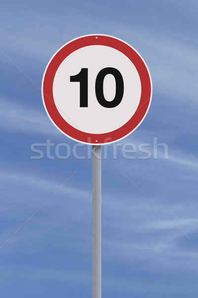 Speed Limit  Stock photo © lorenzodelacosta