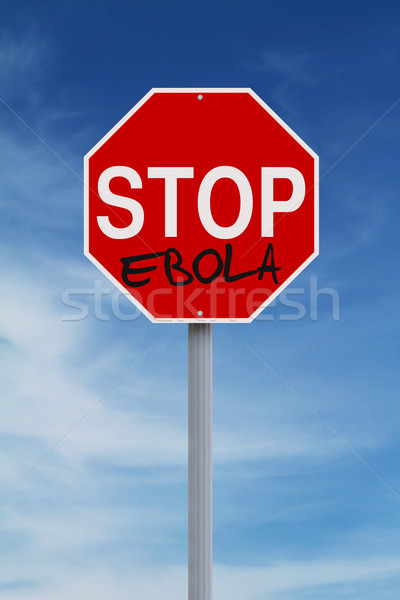 Stop Ebola  Stock photo © lorenzodelacosta