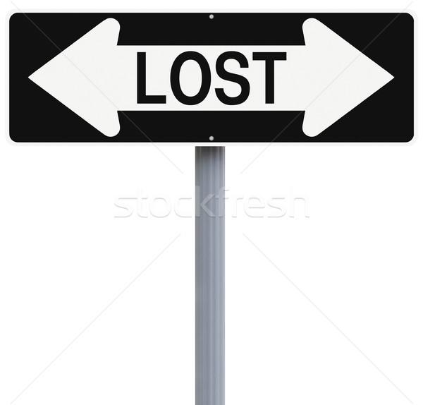 Lost  Stock photo © lorenzodelacosta