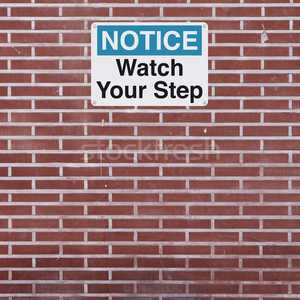 Watch Your Step  Stock photo © lorenzodelacosta