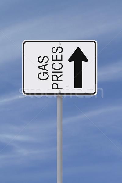 Increasing Gas Prices  Stock photo © lorenzodelacosta