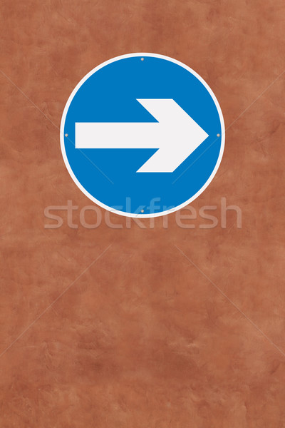 Turn Right  Stock photo © lorenzodelacosta