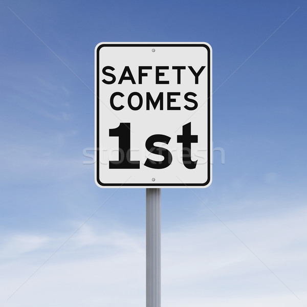 Safety Come First  Stock photo © lorenzodelacosta