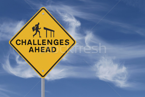 Challenges Ahead  Stock photo © lorenzodelacosta