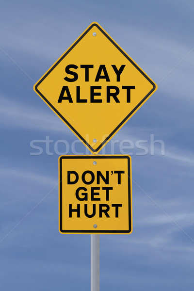 Don't Get Hurt!  Stock photo © lorenzodelacosta