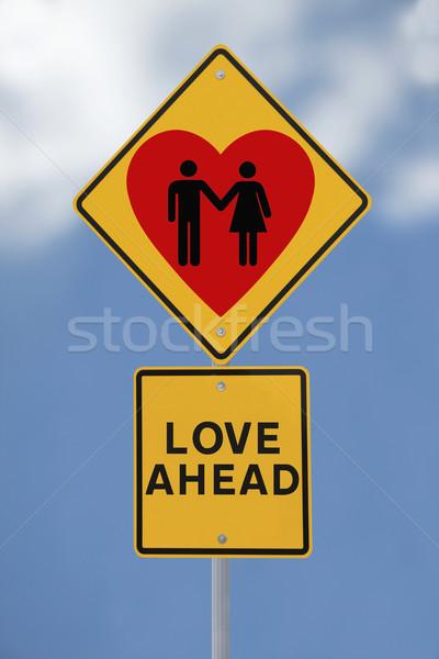 Love Ahead  Stock photo © lorenzodelacosta