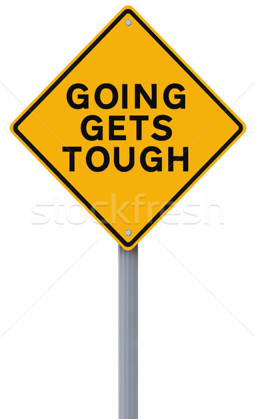 Going Gets Tough  Stock photo © lorenzodelacosta