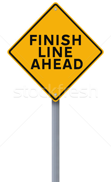 Finish Line Ahead  Stock photo © lorenzodelacosta