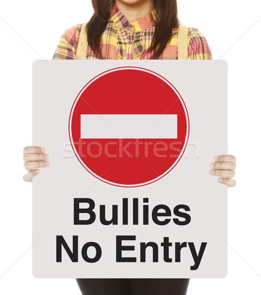 Bullies No Entry  Stock photo © lorenzodelacosta
