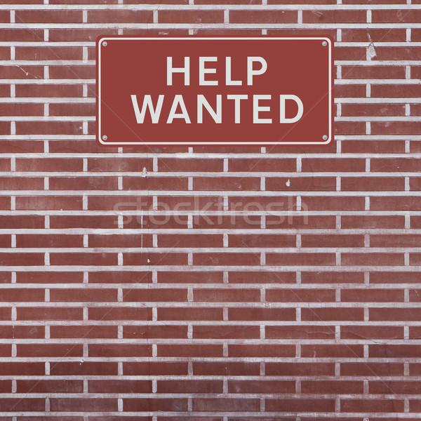 Help Wanted  Stock photo © lorenzodelacosta