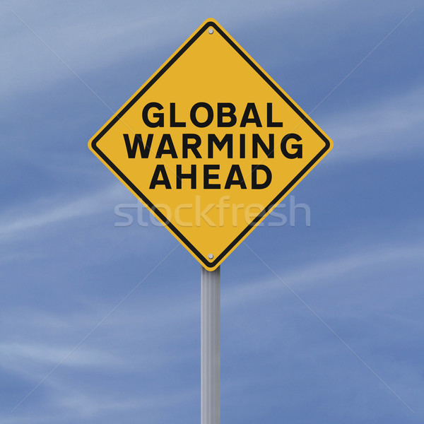 Global Warming Ahead  Stock photo © lorenzodelacosta