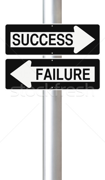 Success or Failure  Stock photo © lorenzodelacosta
