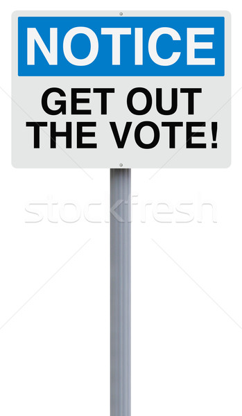 Get Out The Vote  Stock photo © lorenzodelacosta