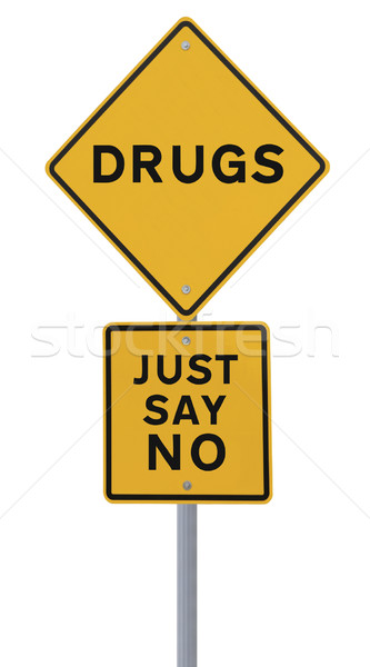 No to Drugs Stock photo © lorenzodelacosta