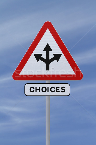 Choices  Stock photo © lorenzodelacosta