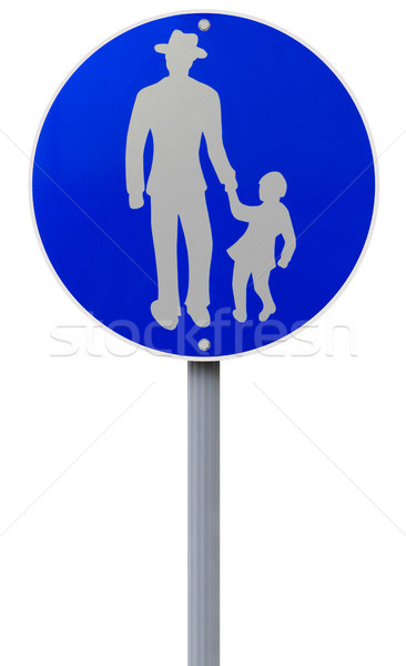 Footpath Road Sign  Stock photo © lorenzodelacosta